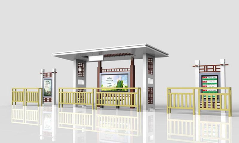 候车亭制作厂家解读候车亭设计的技巧(图1)